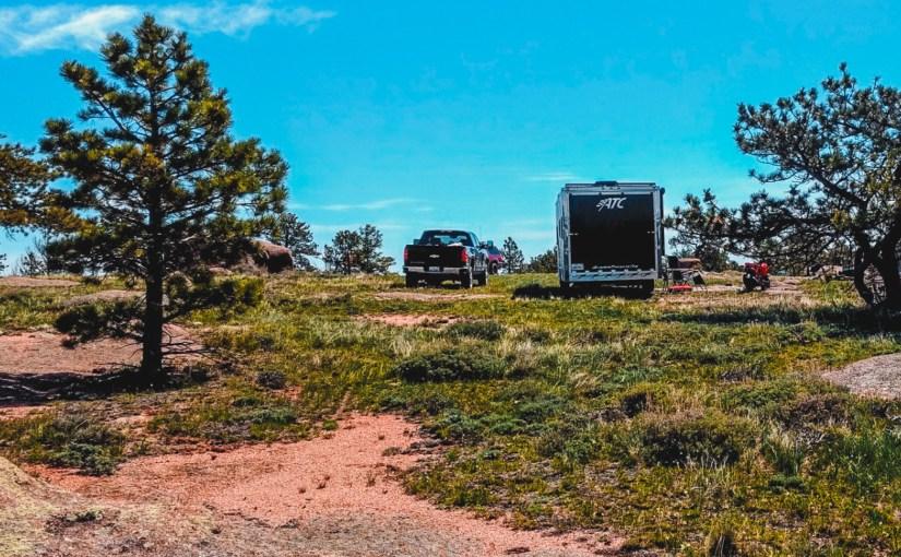 Vedauwoo, Wyoming, Dispersed Camping Area