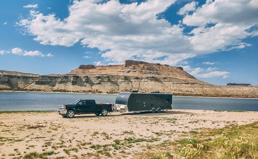 Finding Free Camping at Flaming Gorge