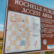 rochelle public access area wyoming camping