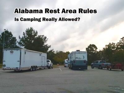 alabama rest area