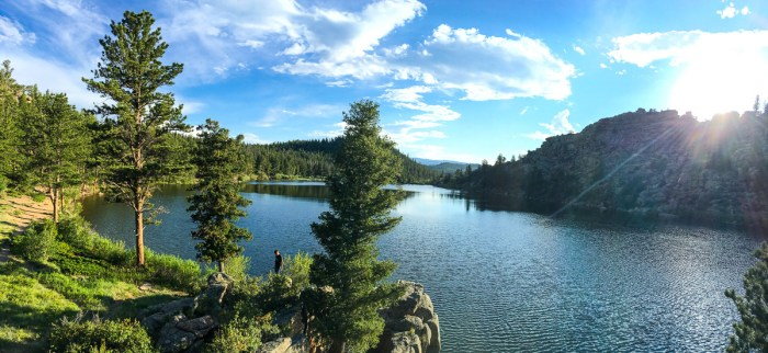 dispersed camping near red feather lakes colorado