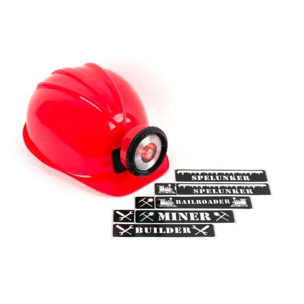 Red Miner Helmet