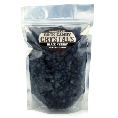 Rock Candy Crystals Black Cherry