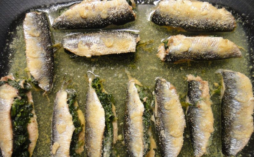 Sardines farcides d´espinacs