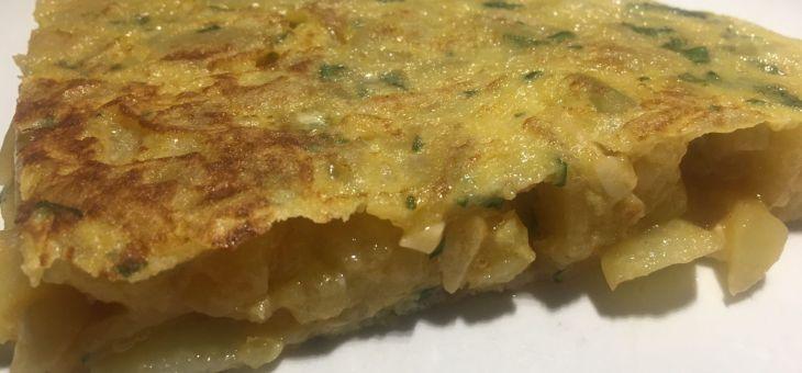 Truita d´alls i patates