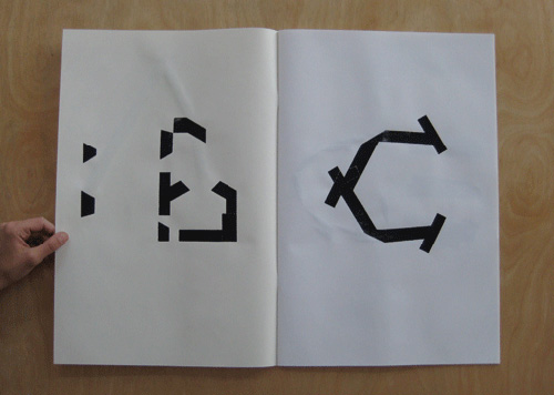 claire nereim art artist typography photography