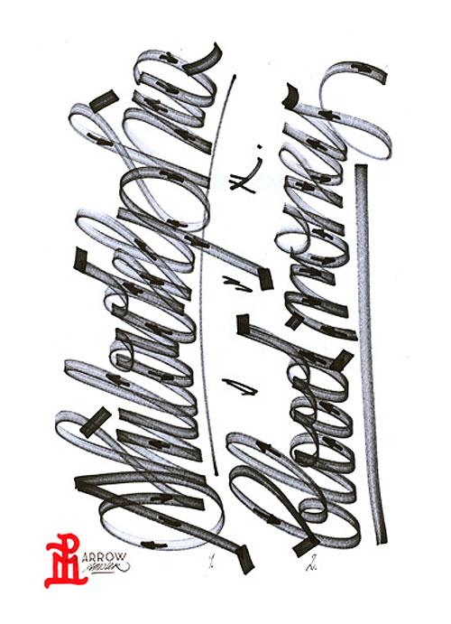 job wouters letman type lettering