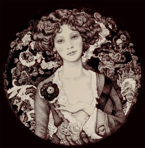 Vania Zouravliov circular portrait five