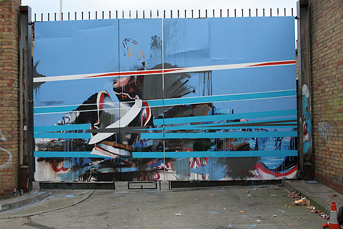graffiti artist Conor Harrington painter painting street