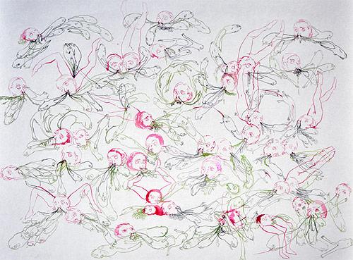 artist megan diddie drawing