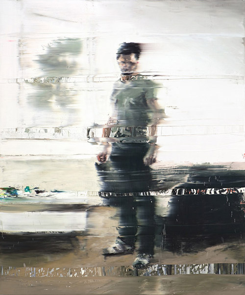 Artist painter Andy Denzler paintings