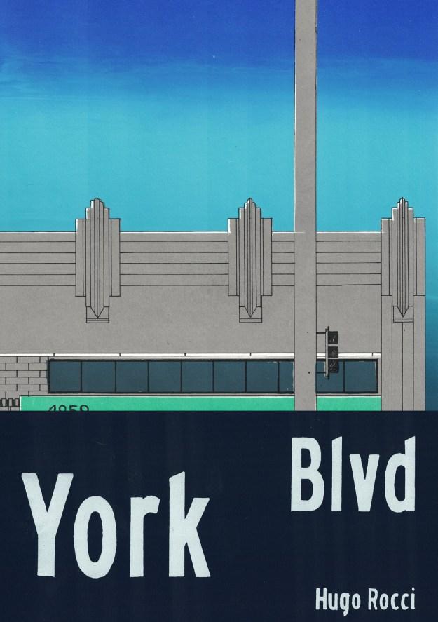 "Rocci1 ""York Boulevard"" by Artist Hugo Rocci Design"