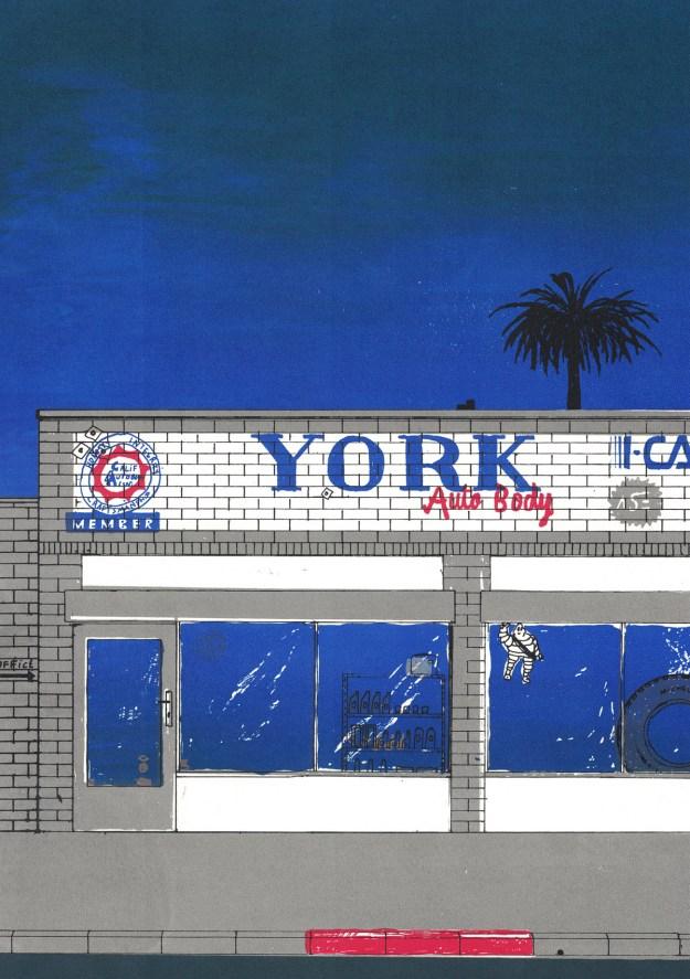 "Rocci14 ""York Boulevard"" by Artist Hugo Rocci Design"