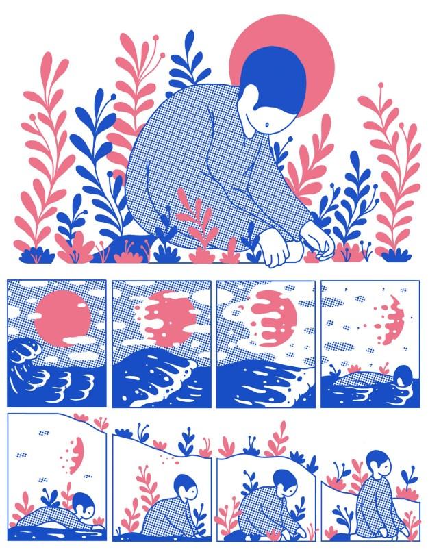 "Cohen1 ""Reflect"" by Illustrator Evan M. Cohen Design"