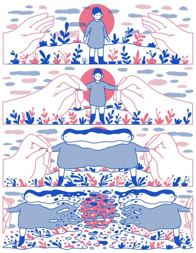 "Cohen3 ""Reflect"" by Illustrator Evan M. Cohen Design"