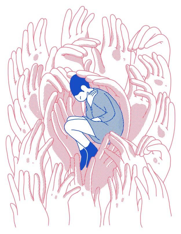 "Cohen6 ""Reflect"" by Illustrator Evan M. Cohen Design"