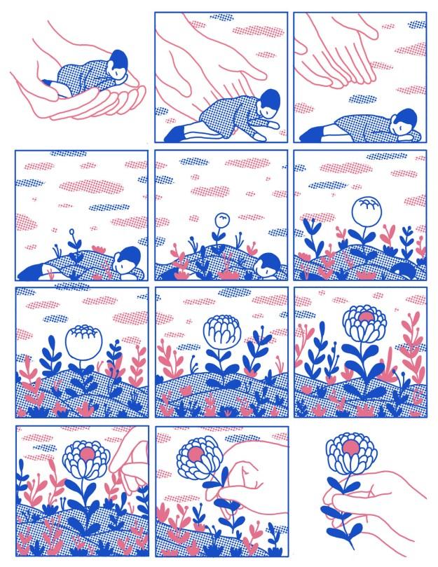"Cohen7 ""Reflect"" by Illustrator Evan M. Cohen Design"