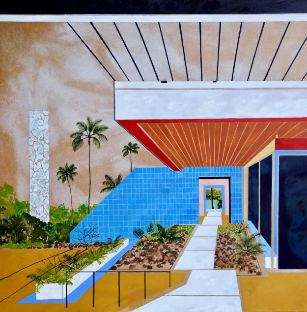 "Keates13 ""The Kennedy Trip"" by Artist Charlotte Keates Design"