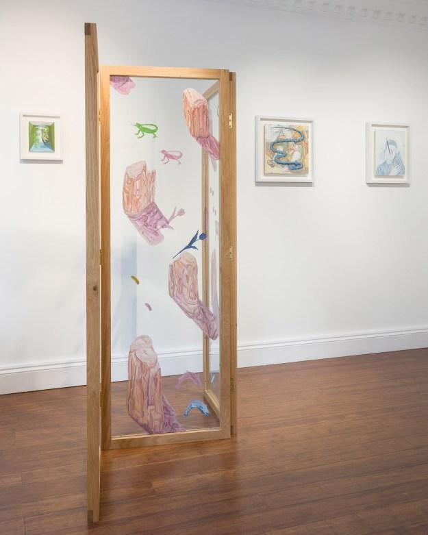 """Pigott15 """"Slippery Gaze"""" by Artist Tristan Pigott Art Design"""