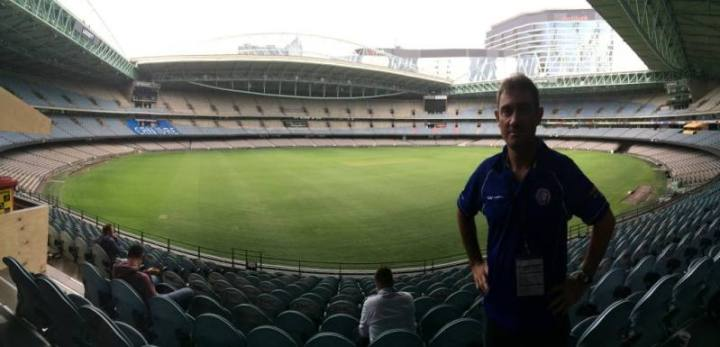 fitzy at the afl