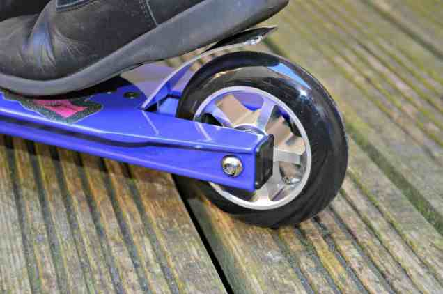 Zinc Outbrake II Stunt Scooter - Rear footbrake