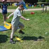 Festival on the Farm - Tigger jumping frogs