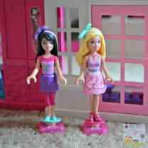 Mega Bloks Barbie Build N Play Fab Mansion - Barbie and Skipper