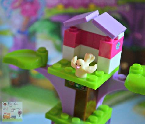 Mega Bloks Barbie Build N Play Fairy Treehouse - Birds Nest