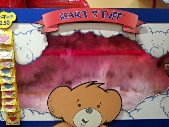 Build-A-Bear Workshop - Stuffing machine