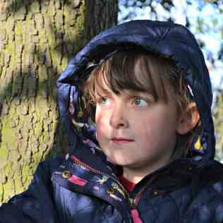 Joules - French Navy Jnr, Marcotte Girls Quilted Hooded Coat - Hood