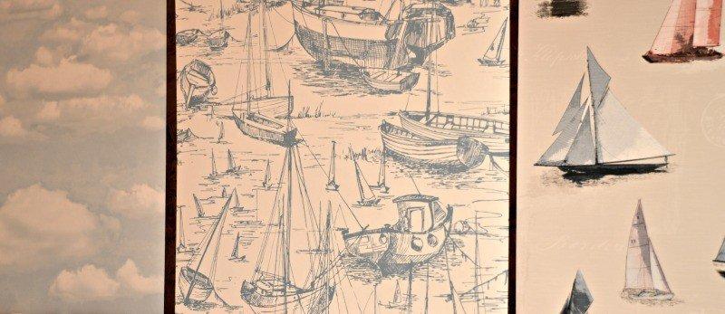 B&Q SS15 Docklands - Wallpaper