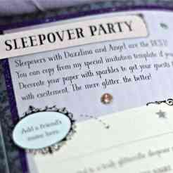 Parragon - Glitterbelle Me and You - Sleepover Party