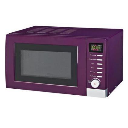 Purple Spectrum Collection Digital Microwave