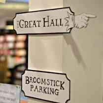 Waterstones Harry Potter Night - Signs