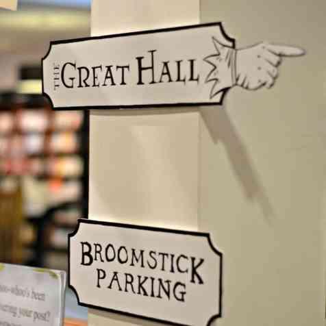 Waterstones Harry Potter Night - Signs