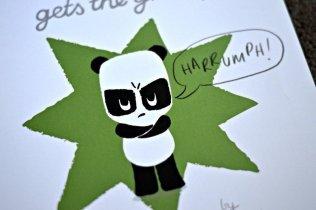 Pom Pom gets the grumps - HARRUMPH