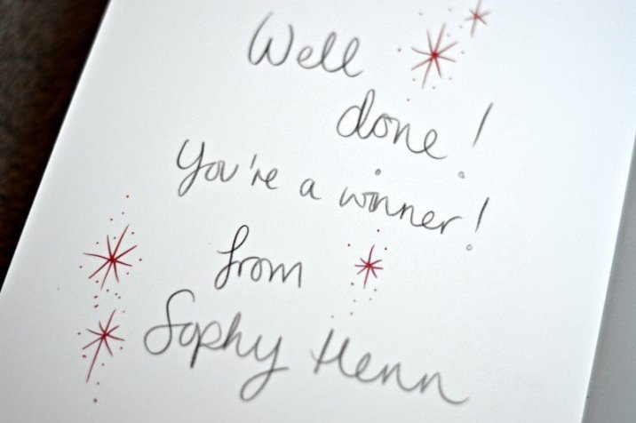 Where Bear signed by Sophy Henn