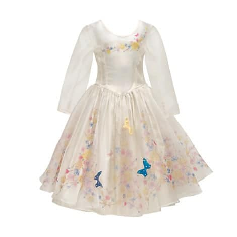 Cinderella Deluxe Wedding Dress Costume For Kids