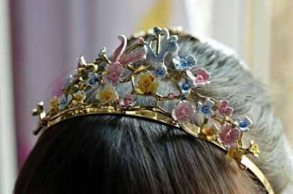 Disney Cinderella wedding accessories set - Tiara