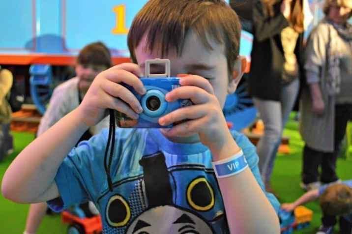 Thomas' VIP Birthday Party - Tigger Camera