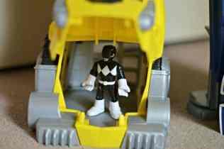 Imaginext Power Rangers Morphin Megazord - Chomping Sabertooth (open)