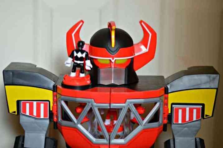 Imaginext Power Rangers Morphin Megazord - Shoulder power pad
