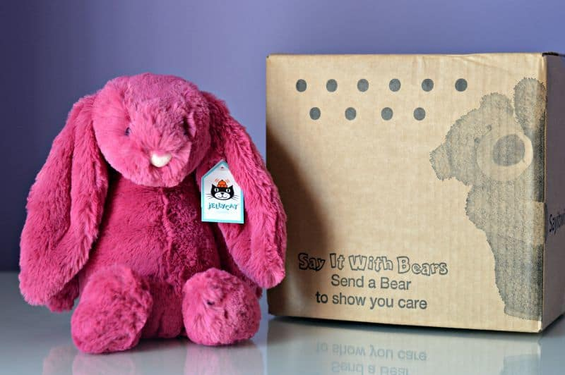 Say It With Bears - Jellycat Rose Bunny