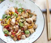 Sweet and sour NERGI® wok dish