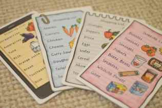 Orchard Toys Shopping List - Shopping list cards