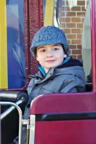 Drayton Manor Thomas Land - Bertie Bus (Tigger)