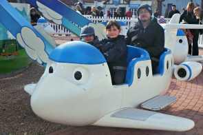 Drayton Manor Thomas Land - Jeremy's Flying Academy (Roo and Tigger)