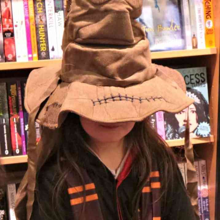 Harry Potter Book Night 2016 - Sorting Hat Roo
