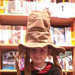 Harry Potter Book Night 2016 - Sorting Hat Tigger