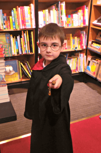 Harry Potter Book Night 2016 - Tigger